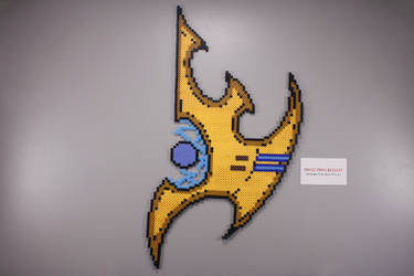 Fuse Bead Protoss Symbol by ManicMadeGeekery
