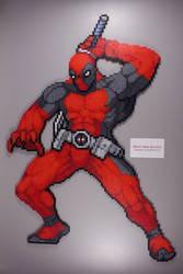 Fuse Bead Deadpool by ManicMadeGeekery
