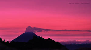 Mount Sinabung volcano by prateekverma23