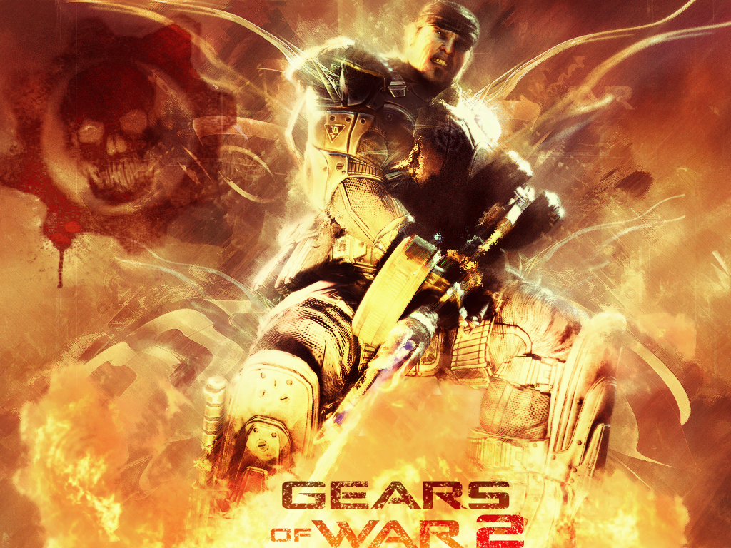 gears of war 2 wallpaperdarkprincess92 on deviantart