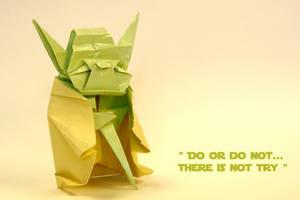 Yoda Origami by alexobond