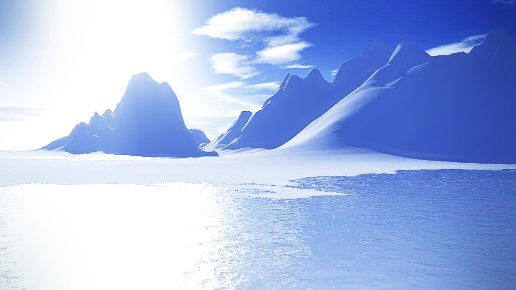 Icy Blue Afternoon by celdaran