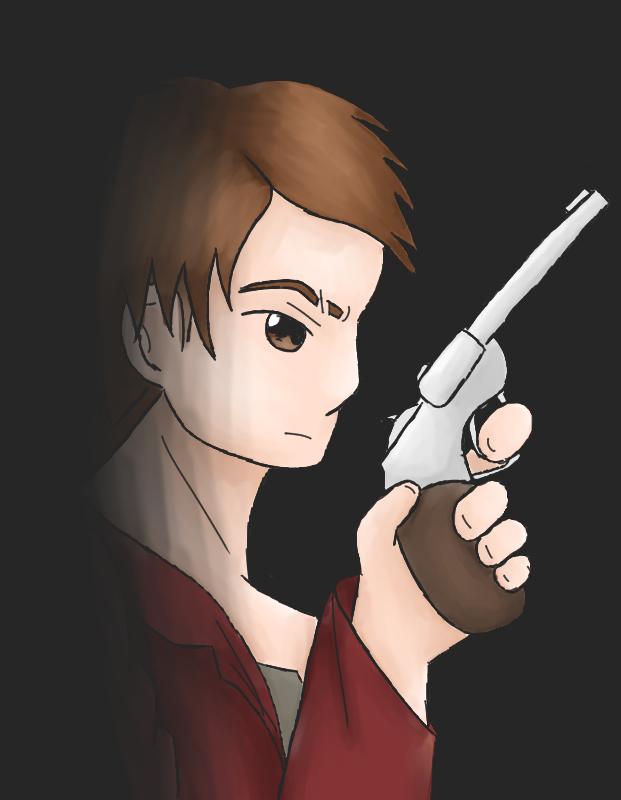 The Demon Hunter by FrauKarikatur