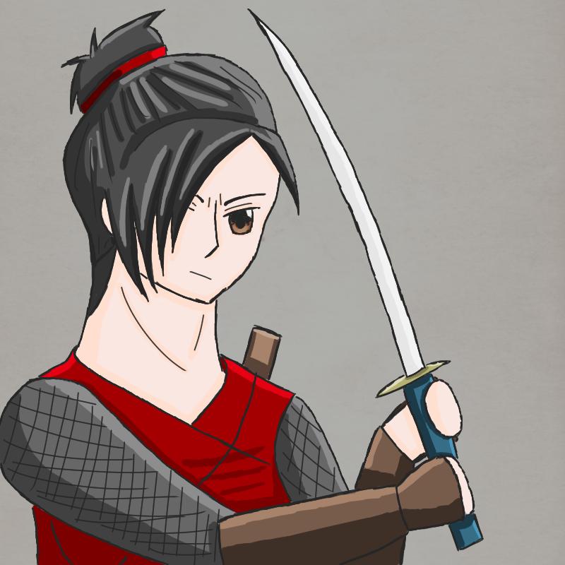 Kuroi Ame: Tanaka Yuki by FrauKarikatur