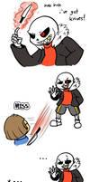 AUs Sanstale comic by Anocra