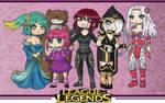 League of Legends - Female Team