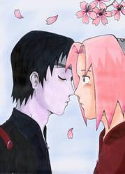 Sai: 'Is it Love, Sakura?' by RoterTiger
