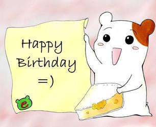 Happy Birthday by RoterTiger
