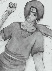 Itachi DIES by RoterTiger