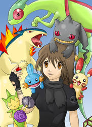 Pokemon Team by RoterTiger