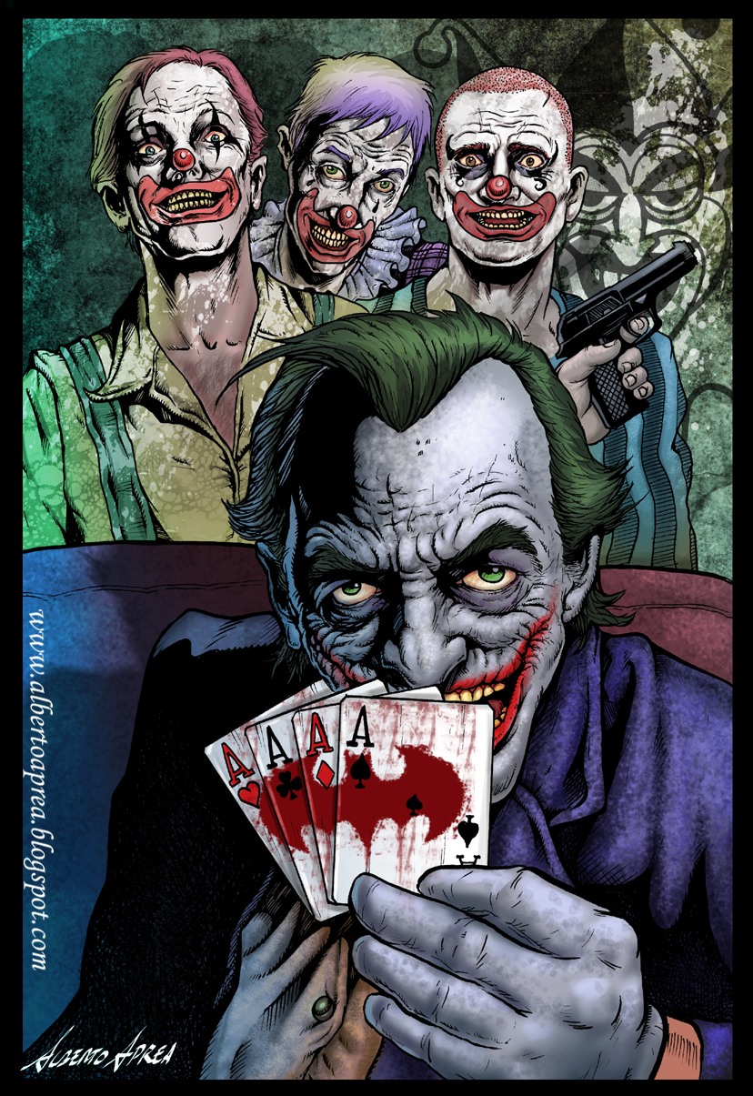 the old joker by albertoaprea
