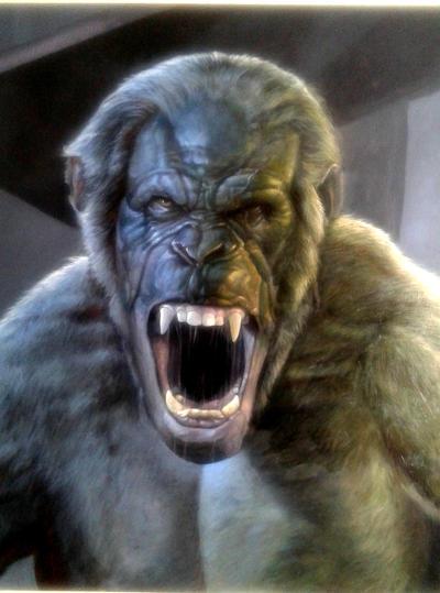 Koba planet of the apes by albertoaprea on DeviantArt