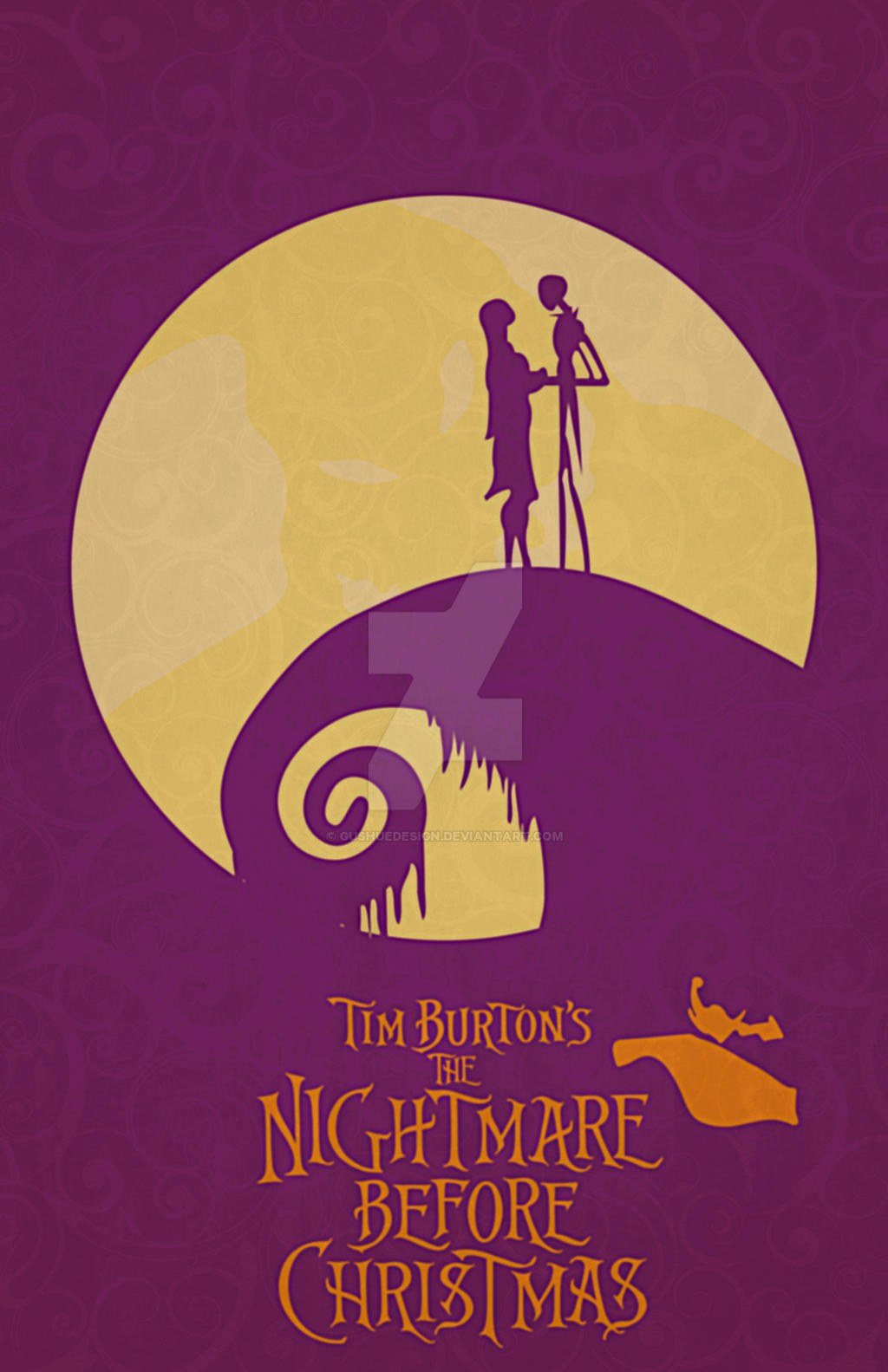 The Nightmare Before Christmas by GushueDesign on DeviantArt