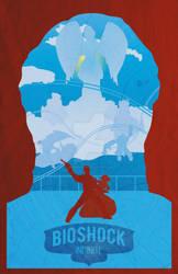 Bioshock Infinite Minimalist Poster by GushueDesign