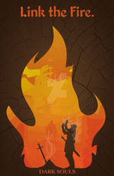 Dark Souls Minimalist Poster by GushueDesign