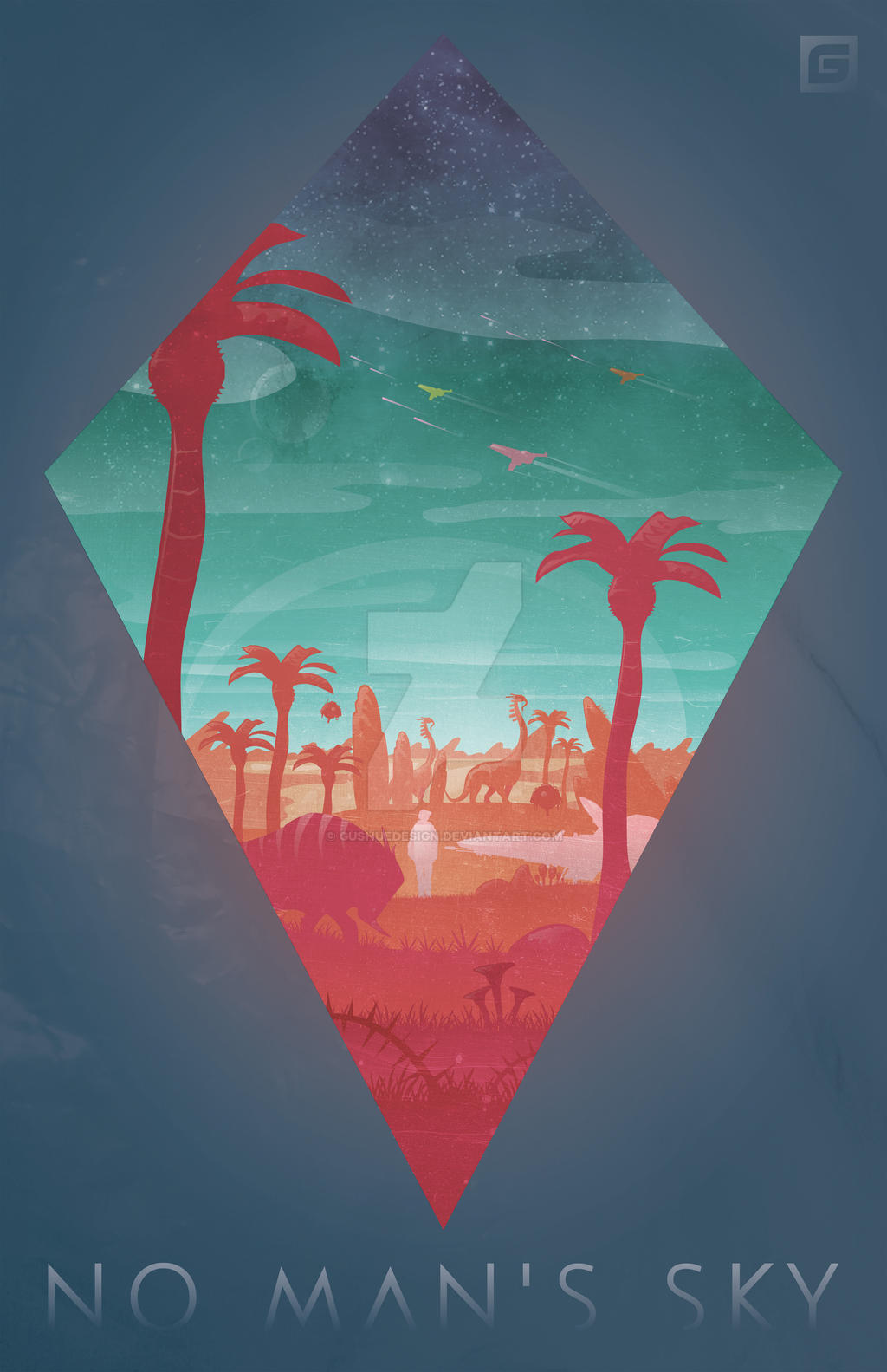No Man's Sky by GushueDesign