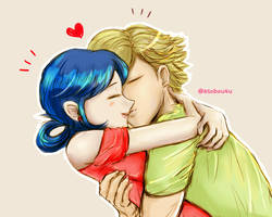 ML: KISS (Adrinette) Colored by Asobou4Ulquiorra