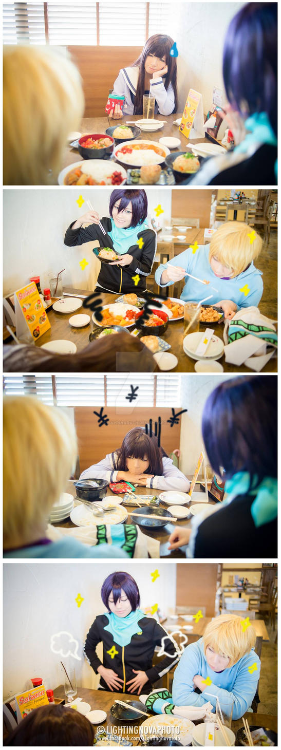 [Noragami] Happy meal!! by rayrinaruth