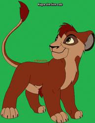 Kupa the lion cub