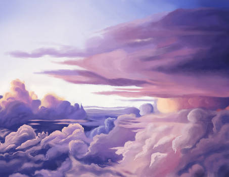 Clouds Painting