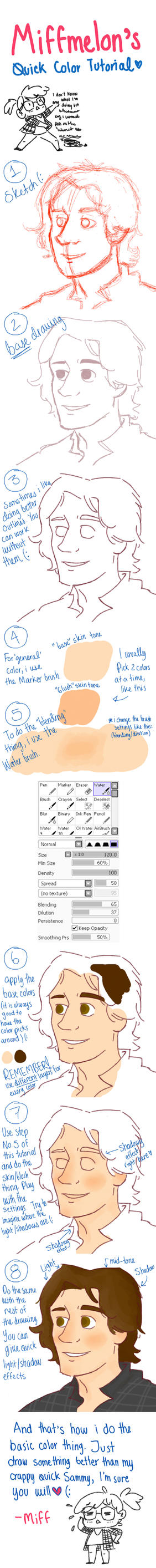 Quick (and very basic) Color Tutorial by Miffmelon