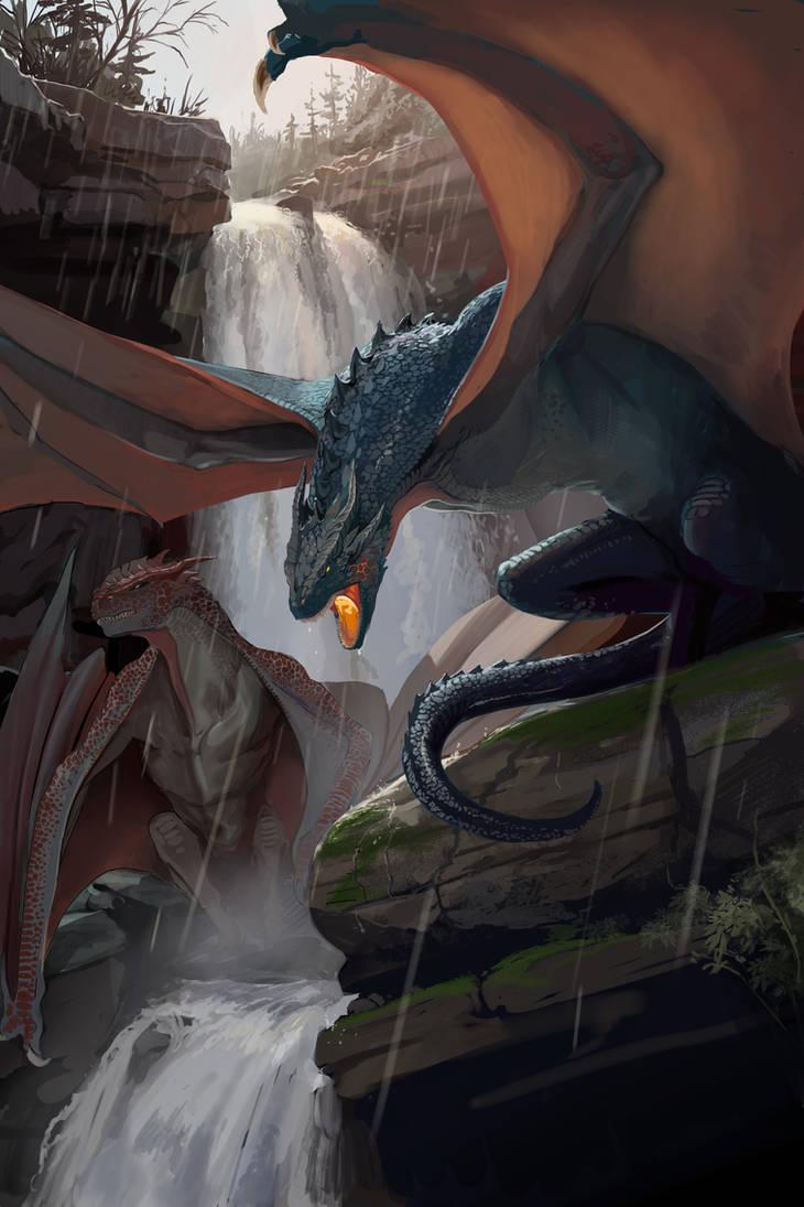 Dragons by TheMichaelMacRae
