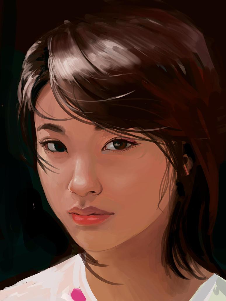 Study Asian chick by ricochet188