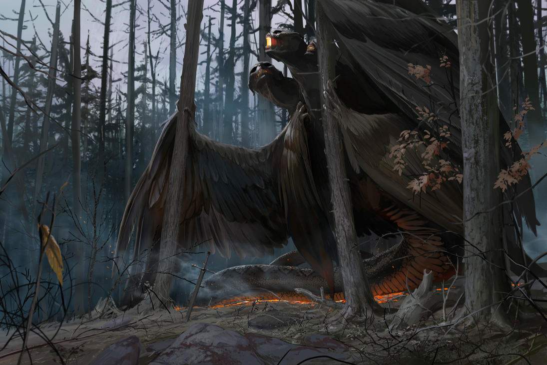 The Four Winged Beast... by TheMichaelMacRae