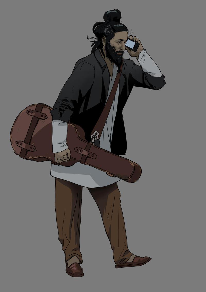 Guitar Guy by TheMichaelMacRae