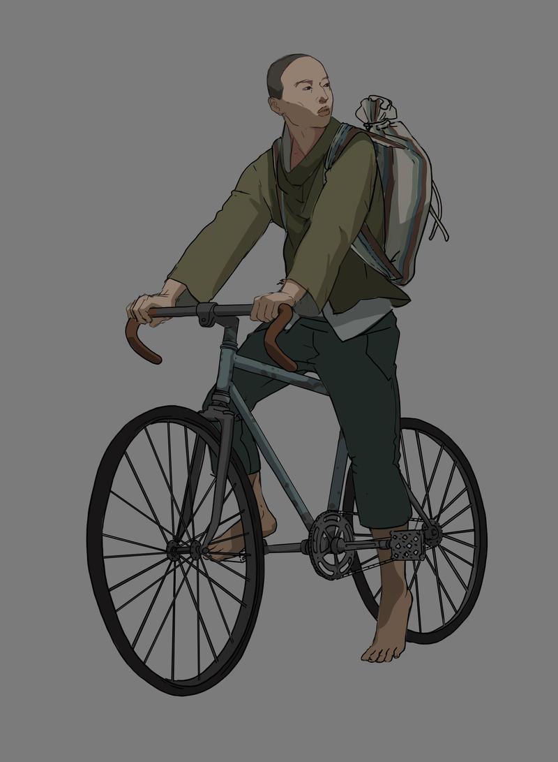 Biker Boy by TheMichaelMacRae