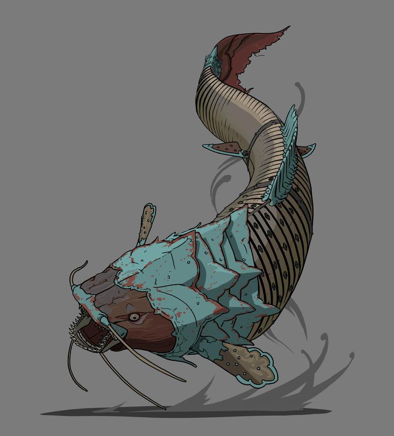 Flightwood Fish by TheMichaelMacRae
