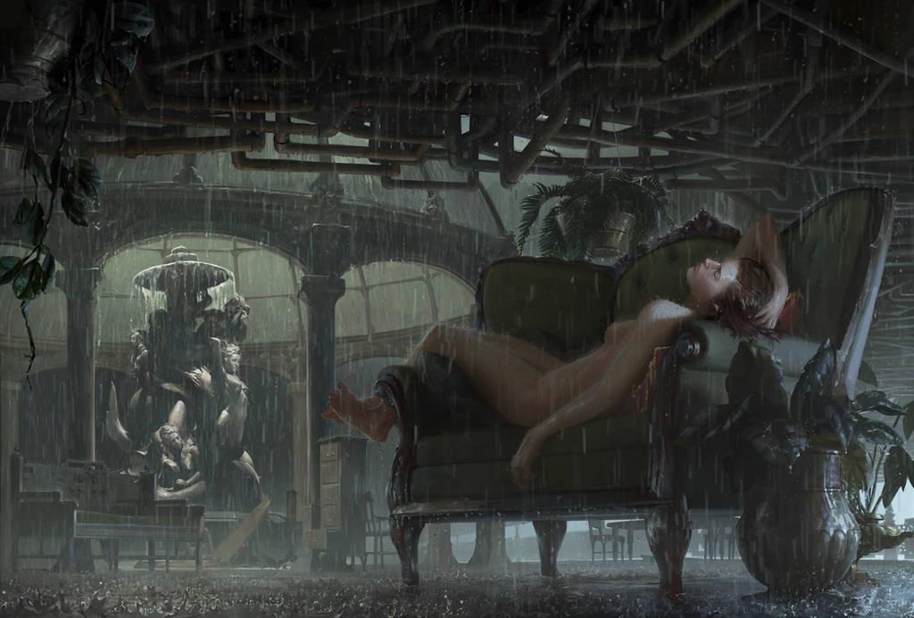 Философия в картинках - Страница 34 The_rain_hall_by_themichaelmacrae_dd1nosw-fullview.jpg?token=eyJ0eXAiOiJKV1QiLCJhbGciOiJIUzI1NiJ9.eyJzdWIiOiJ1cm46YXBwOjdlMGQxODg5ODIyNjQzNzNhNWYwZDQxNWVhMGQyNmUwIiwiaXNzIjoidXJuOmFwcDo3ZTBkMTg4OTgyMjY0MzczYTVmMGQ0MTVlYTBkMjZlMCIsIm9iaiI6W1t7ImhlaWdodCI6Ijw9NjkzIiwicGF0aCI6IlwvZlwvZjY5NGViOWUtY2Q0MC00YjQ3LTkxNDYtMjIyOWJhM2IwOWJiXC9kZDFub3N3LTYyNDAwNjk0LTVjZDktNGYzMi05ODUyLWRhYmQ4ZjQ2ZGY2OC5qcGciLCJ3aWR0aCI6Ijw9MTAyNCJ9XV0sImF1ZCI6WyJ1cm46c2VydmljZTppbWFnZS5vcGVyYXRpb25zIl19