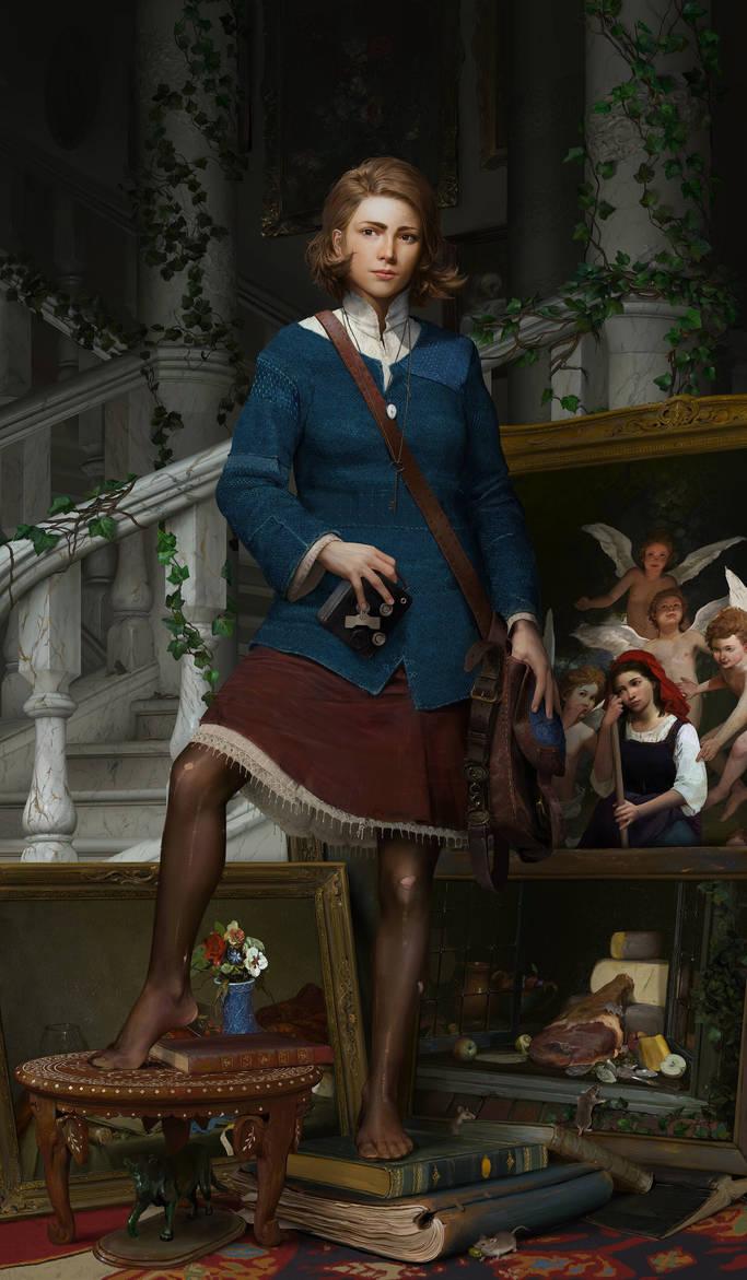 Sybil Portrait