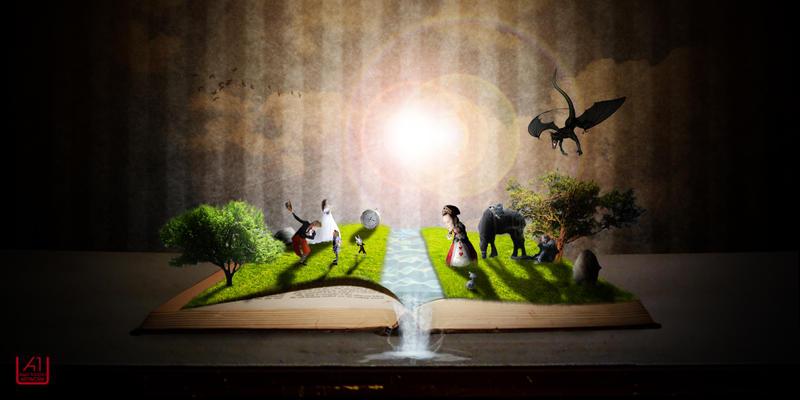 alice in wonderland magic book by acidburn08 on deviantart