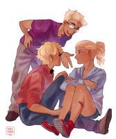 Blonds by cookiecreation