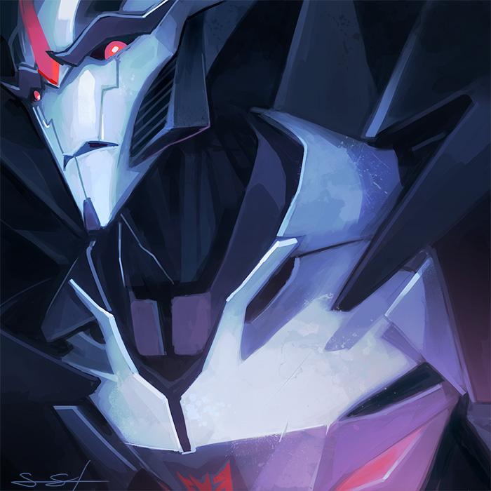 [Pro Art et Fan Art] Artistes à découvrir: Séries Animé Transformers, Films Transformers et non TF - Page 5 Starscream_speedpaint_by_fayrenpickpocket-d4e4qp4