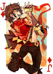 Jack of Diamonds by fayrenpickpocket