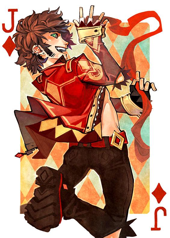 Jack of Diamonds by fayrenpickpocket