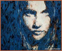 The blue of the night by LORETANA