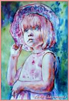 A young lady by LORETANA