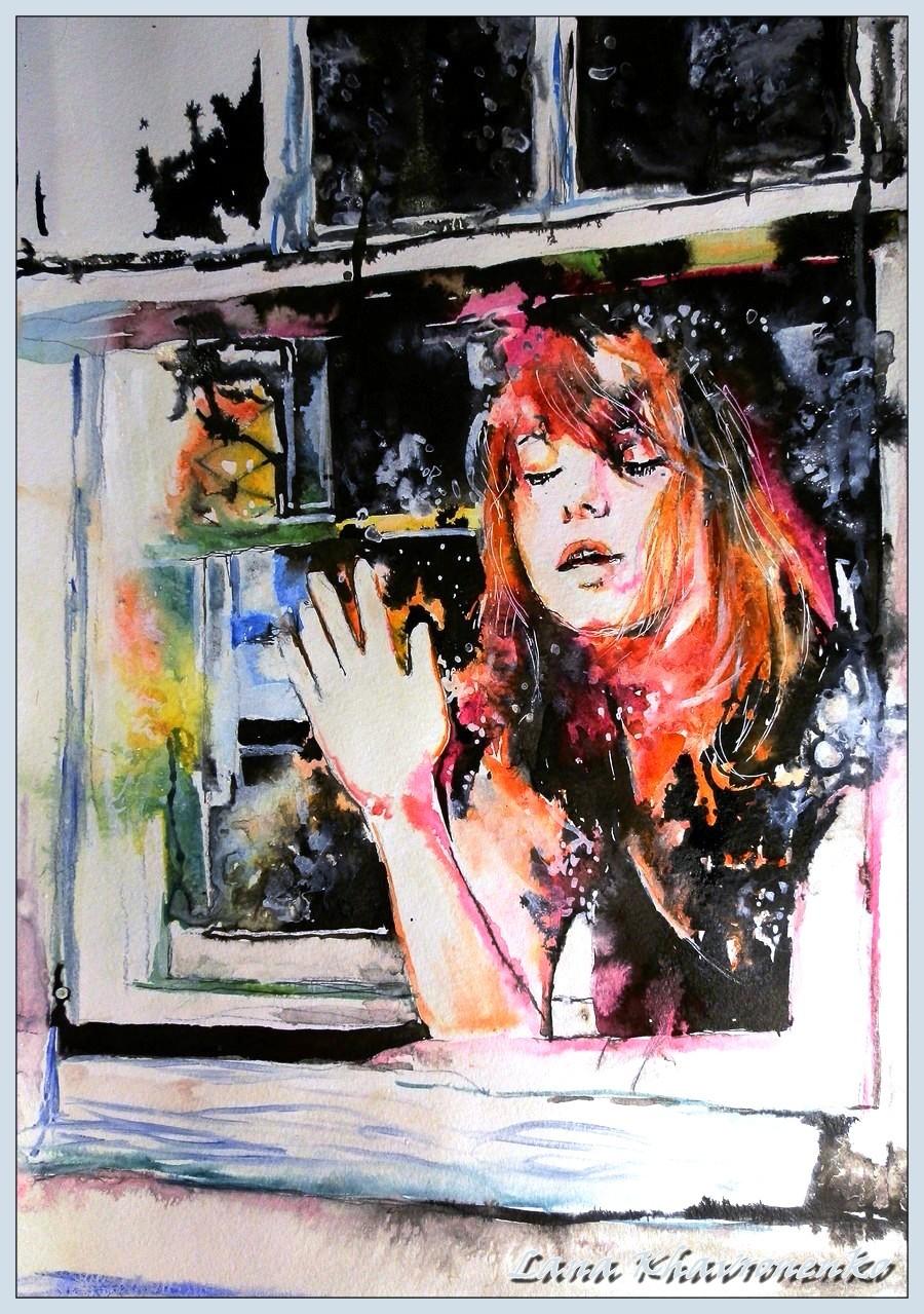 Outside the window by LORETANA