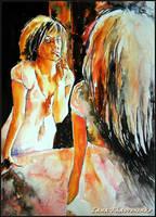 Next to the mirror by LORETANA