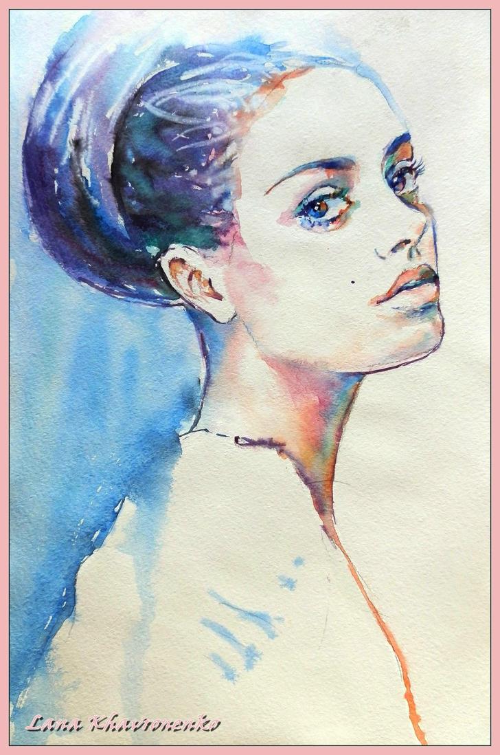 Mila Kunis by LORETANA