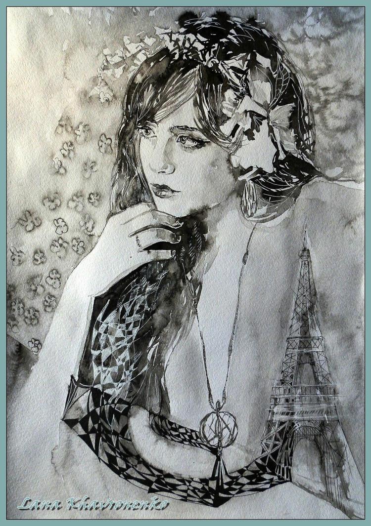 Thoughts Parisian by LORETANA