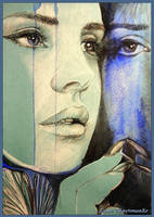 She and reflection by LORETANA