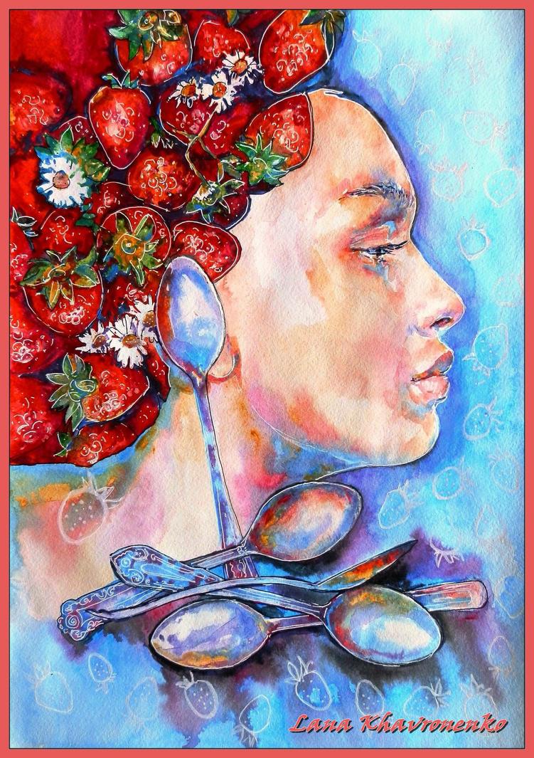 Strawberries by LORETANA