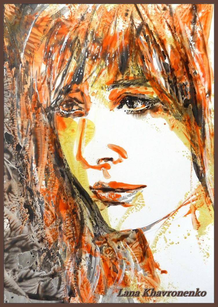Fiery redhead by LORETANA