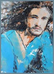 Portrait of a guy by LORETANA