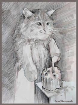 Birthday of the cat