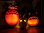Totoro Pumpkins
